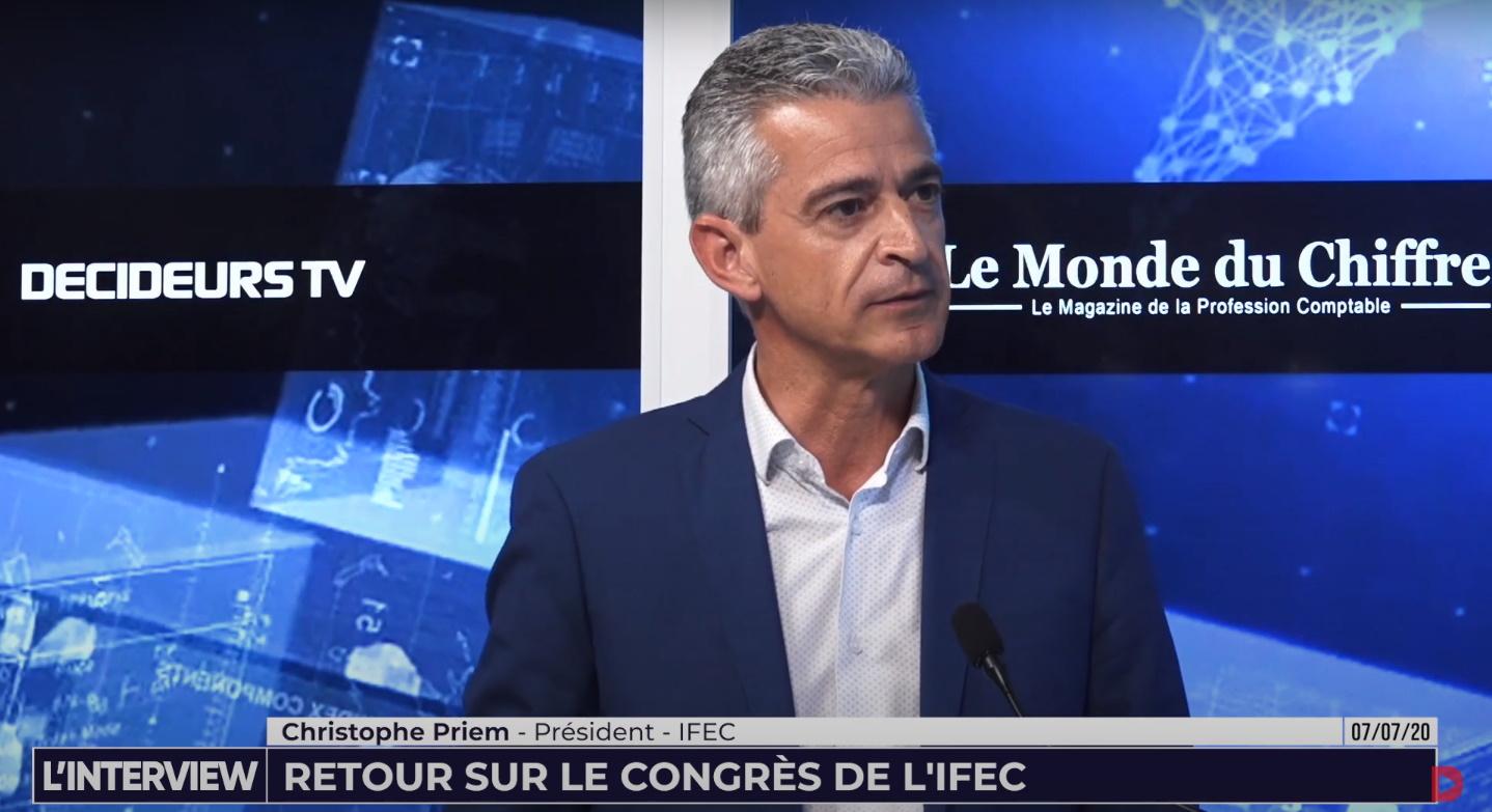 Christophe Priem, Président de l'IFEC : « Nous avons eu 1 400 inscrits à notre Congrès »