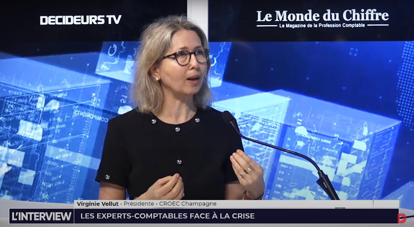 Virginie Vellut, Présidente du CROEC Champagne : « La reprise se fait progressivement »